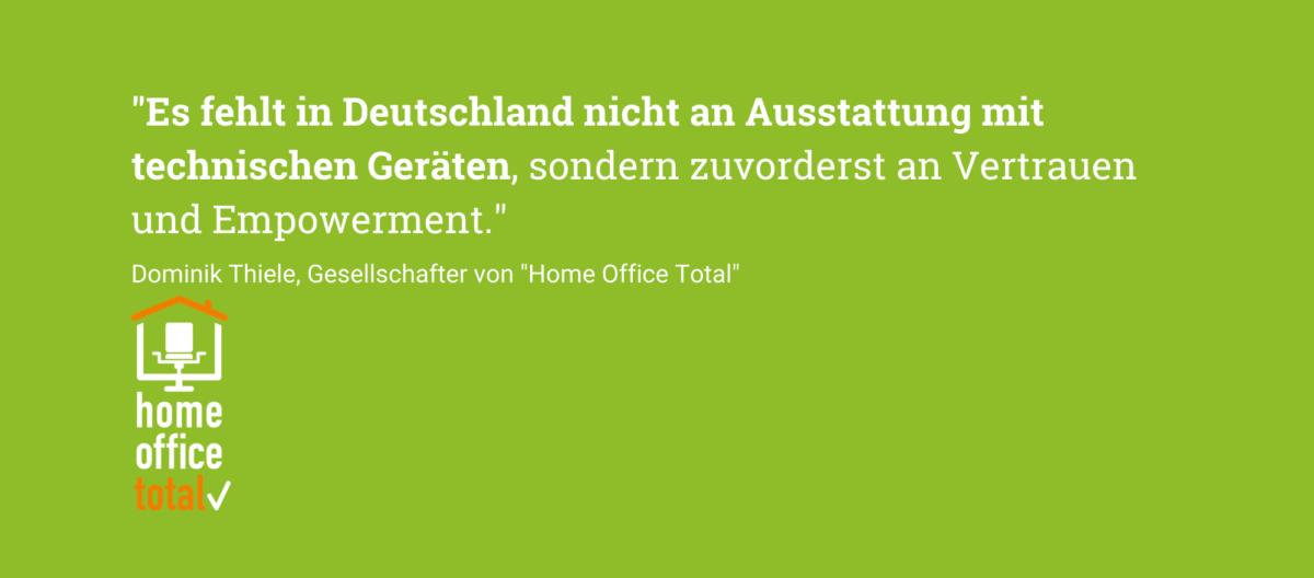 Präsenz 2.0 (Bild: Home Office Total)